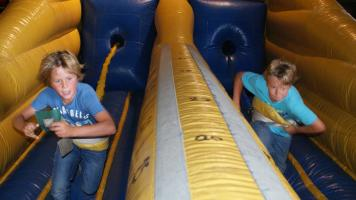 Bungee Run kinderfeest Breda